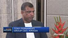 AirAsia's Fernandes: We're working to create a group comp...