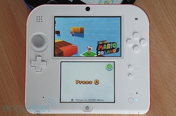 Nintendo 2DS: dropping one dimension, adding one more choice (hands-on)
