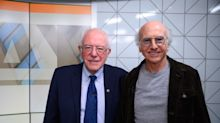 Larry David says Bernie Sanders should exit the 2020 presidential race: 'He can't get the nomination'