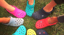 Crocs' popularity is skyrocketing among teens as ugly fashion takes over