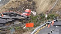 Mexico scenic highway collapses