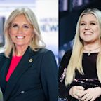 Kelly Clarkson and Jill Biden bond over divorce: 'I think over time you heal,' says first lady