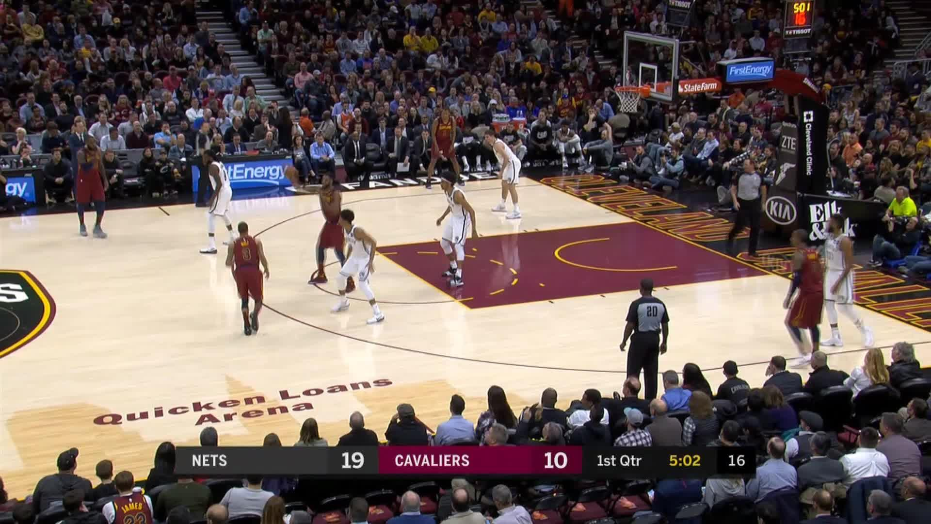 Story of the day - LeBron makes triple-double as Cavs win