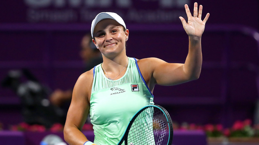 Ash Barty's flawless feat in win over Aus Open runner-up