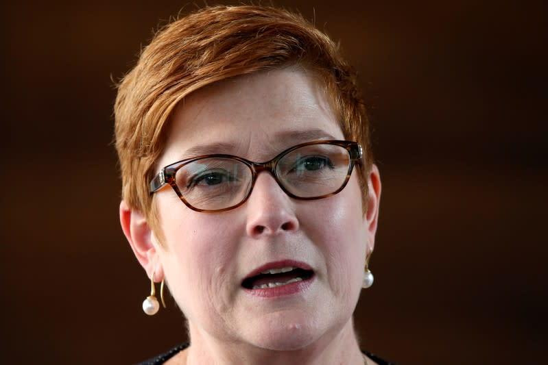 Australia says to hold China accountable on human rights