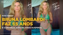 Aos 65 anos, Bruna Lombardi continua arrancando suspiros