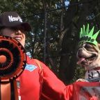 NYC pups strut their stuff at the annual Tompkins Square Halloween Dog parade