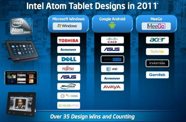 Intel's Otellini says 35 Atom-based tablets coming in 2011, but smartphones get pushed back (again)