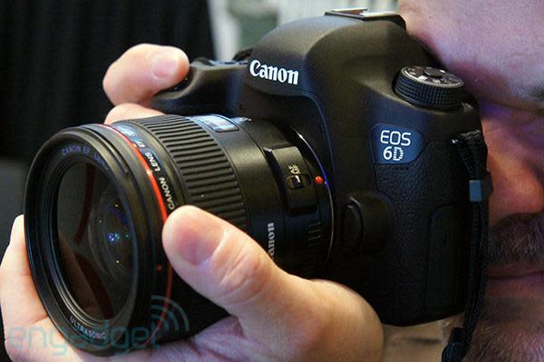 Canon EOS 6D full-frame DSLR hands-on (video)
