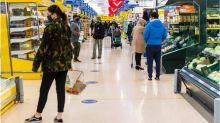 People return to supermarkets as online sales slow