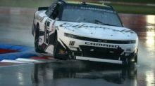 Allmendinger repeats at Charlotte Roval in rain-soaked overtime finish