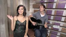 Christina Grimmie Brings Her Voice to Yahoo Music in Exclusive Acoustic Performance