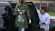 Melania Trump reignites anger over 'I don't really care' jacket: 'It was kind of a message'