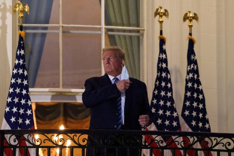 No mask, no worries, says US President Donald Trump