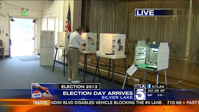 Angelenos Head to Polls to Pick New Mayor