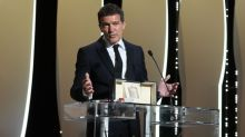 Antonio Banderas wins best actor at the Cannes film festival