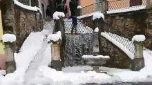 Il Biale, l'antico metodo di Ormea per togliere la neve dalle strade