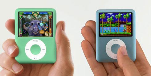 Sonic the Hedgehog and Peggle come to iPod