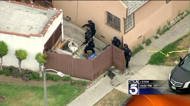 Two LAPD Detectives Ambushed Outside Police Station