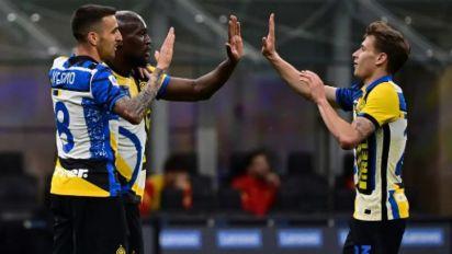 Com gol e assistência de Lukaku, campeã Inter de Milão vence a Roma pelo Campeonato Italiano