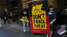 Traditional owners protest Origin fracking