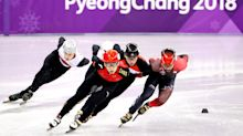 China's Dajing Wu wins gold after setting world record in men's short track 500 meters