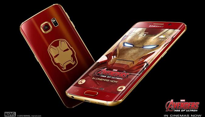 Dile hola al Samsung Galaxy S6 edge Iron Man Edition (video)