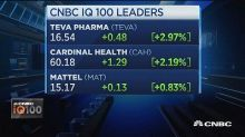 Teva Pharma continues to lead the IQ100