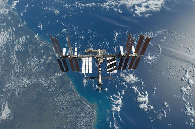 NASA celebrates 16 years of space living with ISS GIFs
