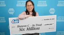 'They thought it was a joke!': Group of four hospital workers in B.C. claim $6 million lottery win