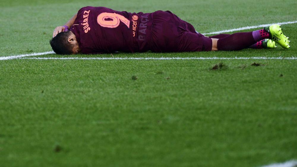 Suárez foi mal contra Getafe e está em má fase no Barcelona
