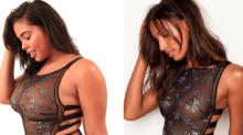 Modelo 'plus size' recrea fotos de Victoria's Secret para diversificar los ideales de cuerpo