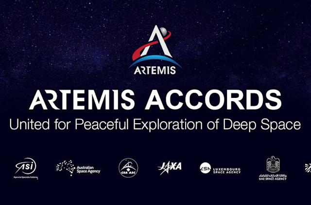 Eight nations sign NASA's Artemis Accords, pledging peace on the moon