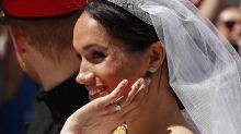 Herzogin Meghan: Diesen speziellen Nagellack trug sie an ihrer Hochzeit