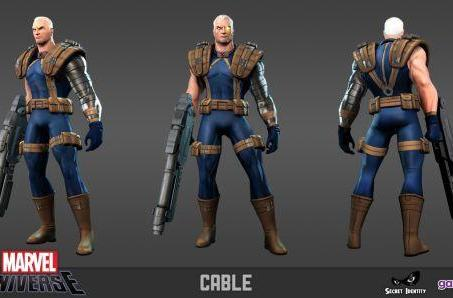 Cable joins the Marvel Universe Online roster