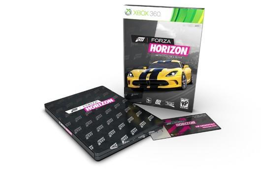 Forza Horizon collector's edition, pre-order goodies revealed