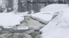 Rainy, Snowy Conditions Cause Flood Concerns Along California's Yuba River