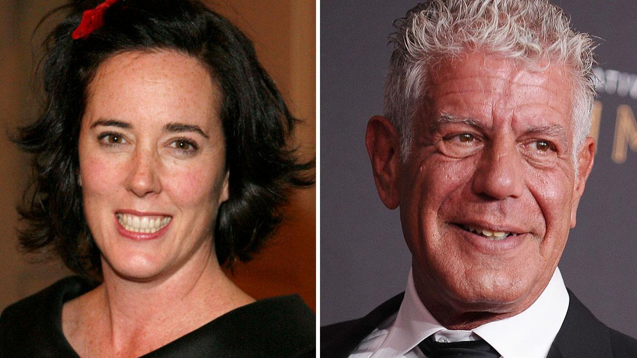 Deaths of Kate Spade and Anthony Bourdain Mark Grim Spike in Suicides in U.S.