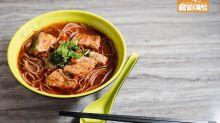 【出街搵食】郴州紅湯米線 10斤鯇魚熬湯 濃辣鮮甜!食勻魚頭、魚肉、魚腩 太子米線