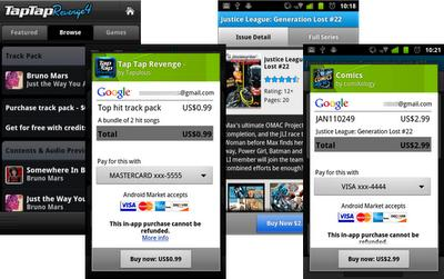 Android Market gets in-app billing, your virtual nickels are now spoken for