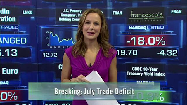 Release of Trade Deficit Numbers; Samsung Unveiling Smartwatch; Bank of America's New Exit