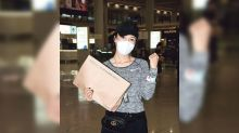 Selena Lee finally arrives in Hong Kong after stranded in Canada