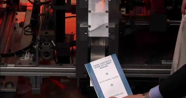 Xerox to sell on-demand Espresso Book Machines to retailers who sell books to people (video)