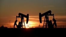 Oil steadies, settling up slightly after volatile session