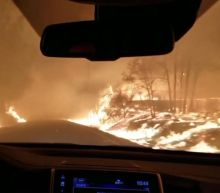California wildfires: Paradise resident films escape from blaze