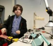 Belgian boy, 9, terminates his studies at a Dutch university