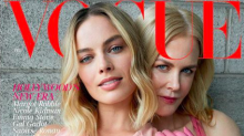 British Vogue caught up in a race row over Margot Robbie and Nicole Kidman cover
