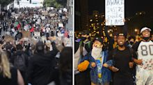 'Breeding grounds': Pictures highlight coronavirus risk during mass protests
