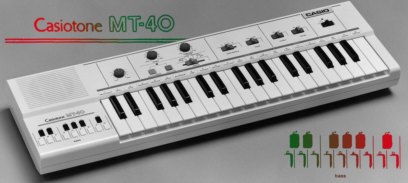The Casio Casiotone MT40 was released in 1981. Four years later it would change reggae music forever.