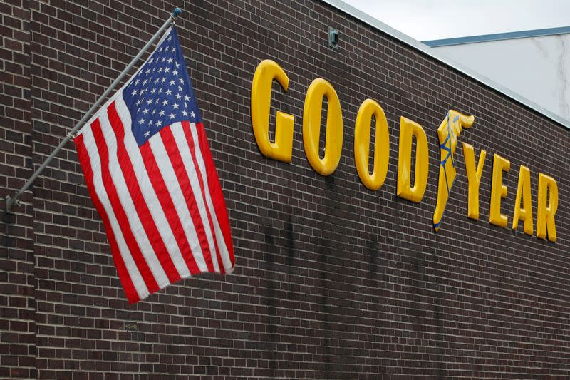 Trump lashes out at Goodyear about its policy on MAGA wear